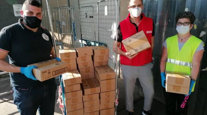 Donazione gelati conad protezione civile Petacciato