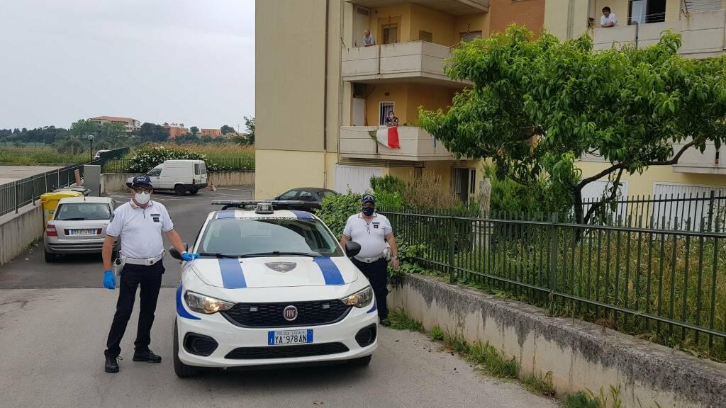Focolaio rom  Termoli via Amalfi tamponi