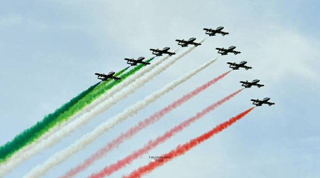 Frecce tricolori a Campobasso