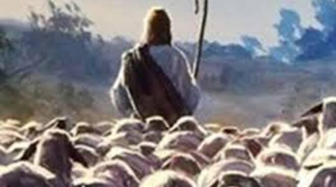 gesù pastore pecore