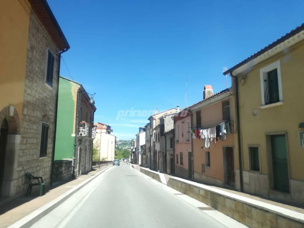 quartiere rom Sant'Antonio Abate a Campobasso