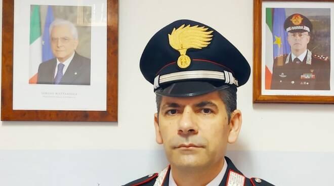 nuovo comandante carabinieri Mirabello