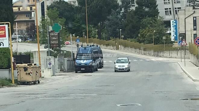 Posti di blocco polizia