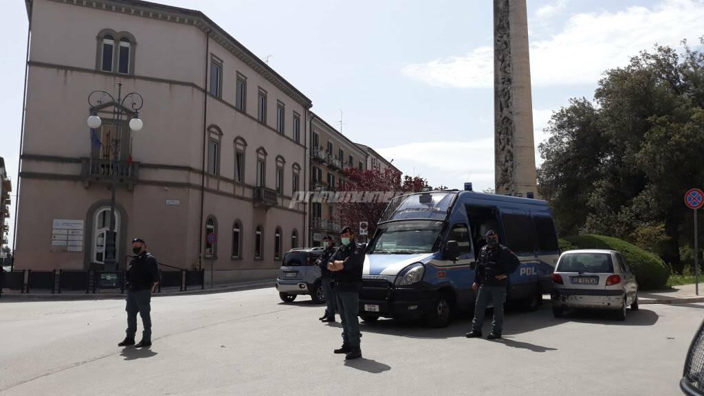 Polizia reparti da Napoli Campobasso