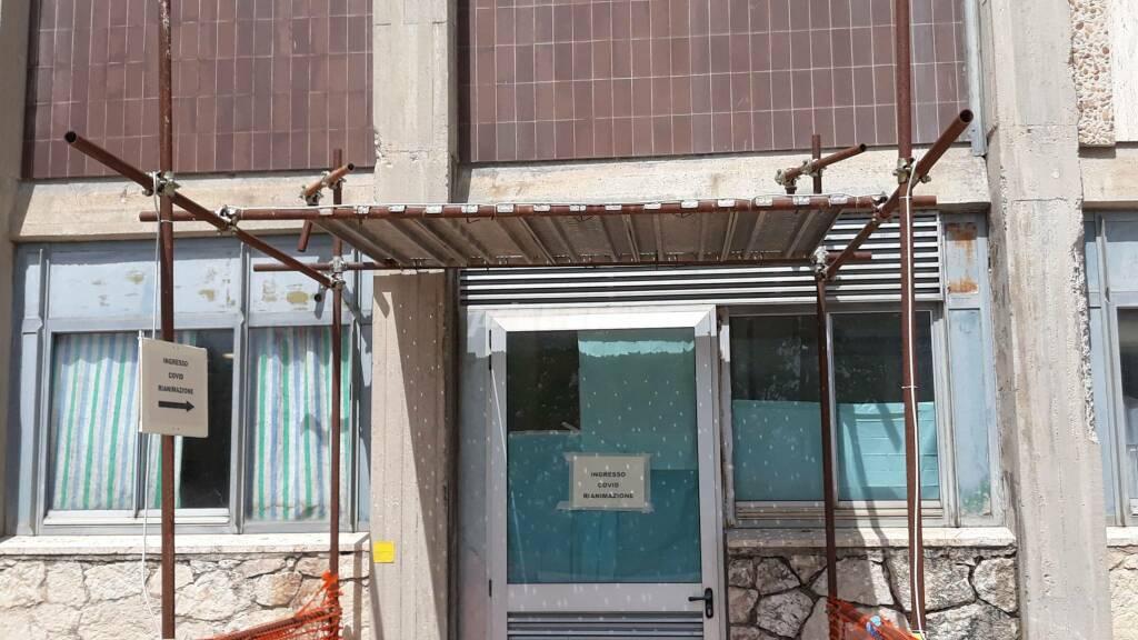 Rianimazione Cardarelli ospedale ingresso covid