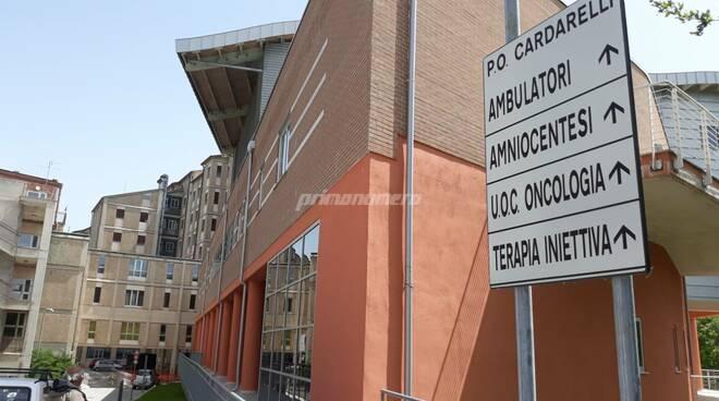 Ospedale Cardarelli Campobasso covid
