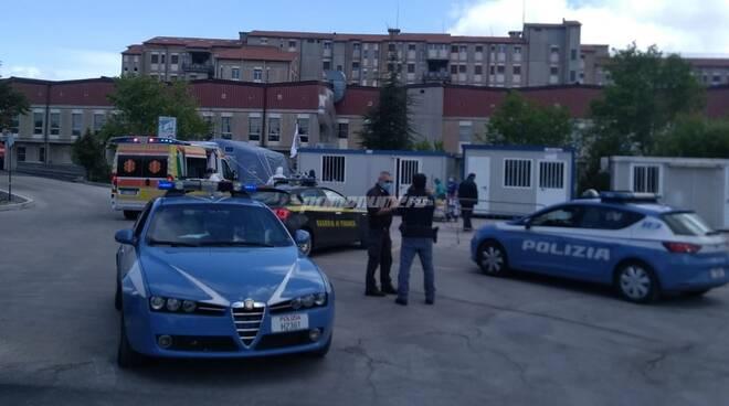Polizia Ospedale Cardarelli