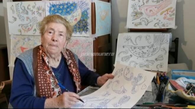 Nonna Francesca artista