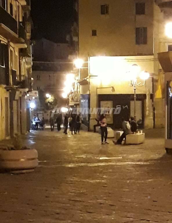 Campobasso via Ferrari dopo il lockdown