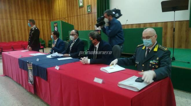 Operazione droga Piazza Pulita conferenza stampa