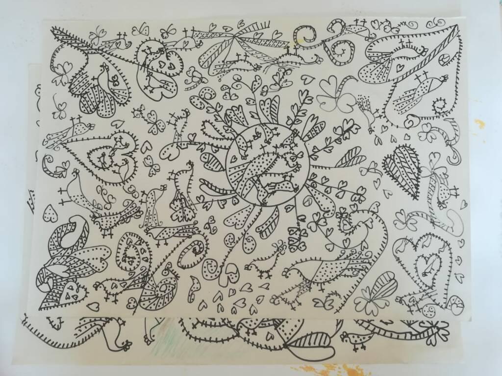 disegni nonna