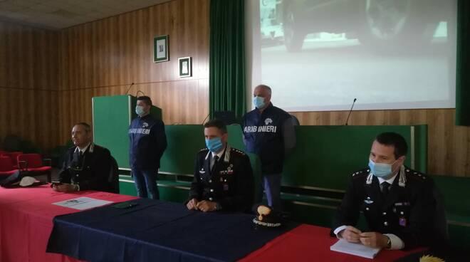 conferenza carabinieri Minnilli, Gaeta, Di Buduo