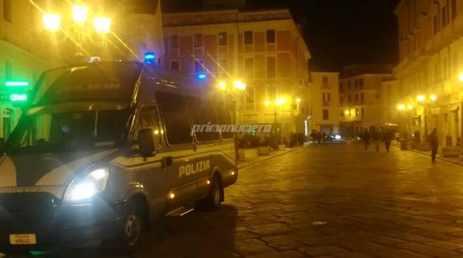Polizia movida Campobasso assembramenti