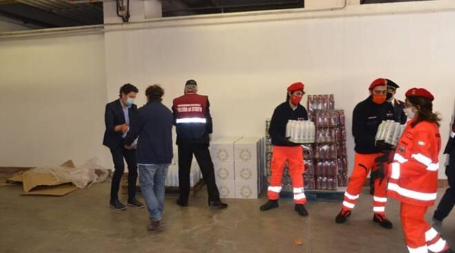 polizia donazione caritas