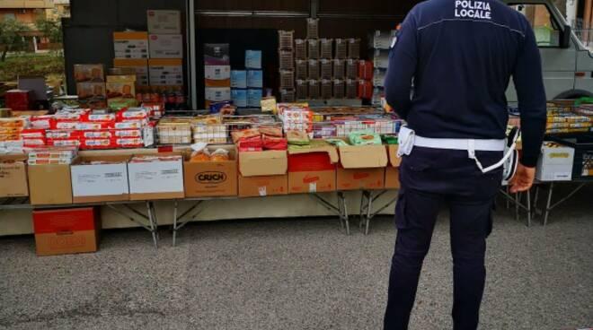 Polizia Locale Campomarino mercato
