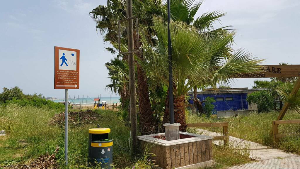 Spiaggia Termoli covid maggio 2020 riovivo