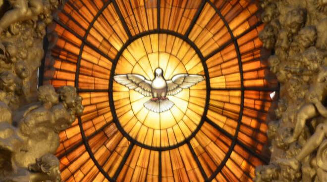 spirito santo glora del bernini