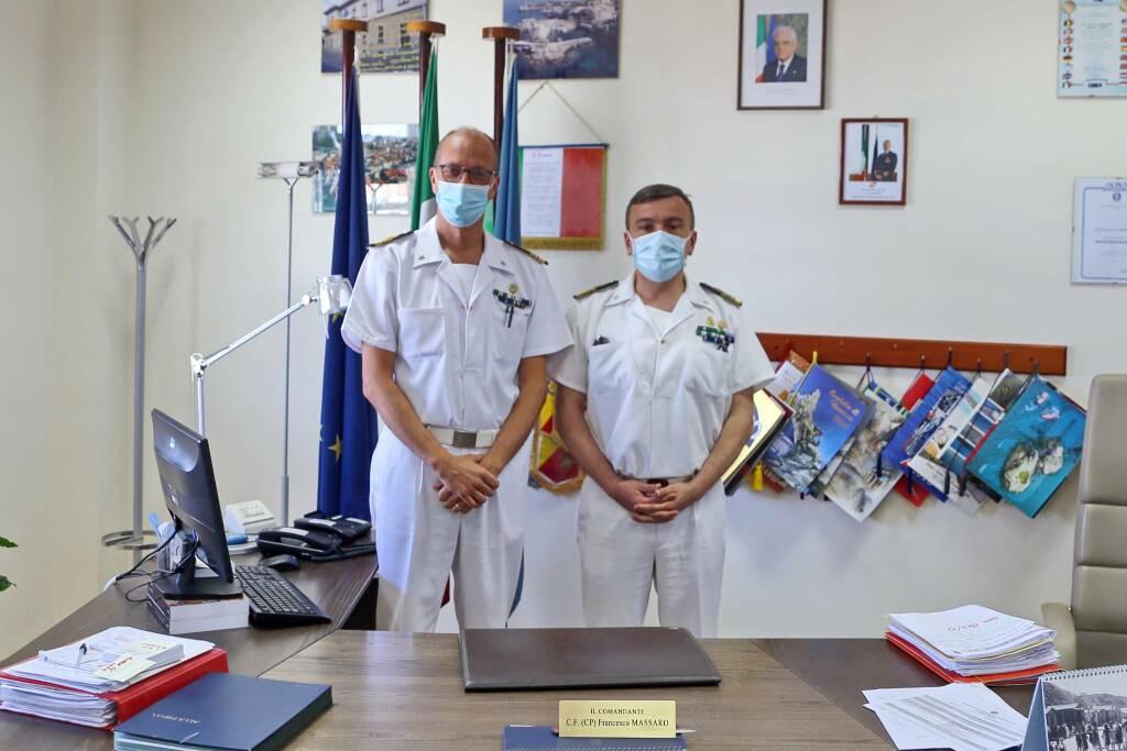 capitaneria di porto visita comandante marittimo massaro