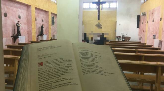 cappella carcere larino messa