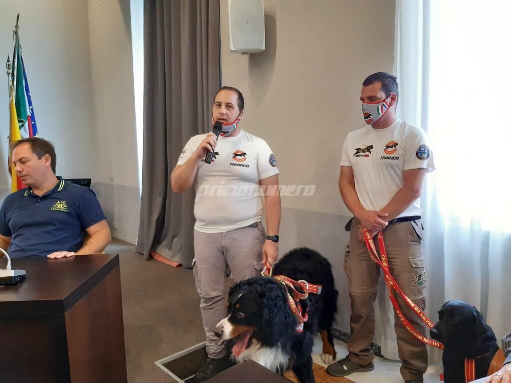 Conferenza spiagge salvamento lifeguard cani Termoli