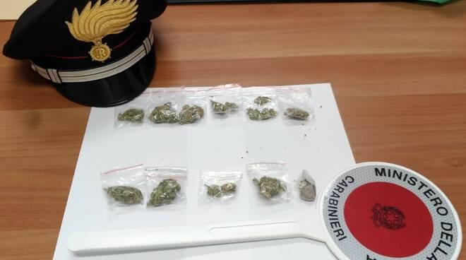 droga carabinieri montenero