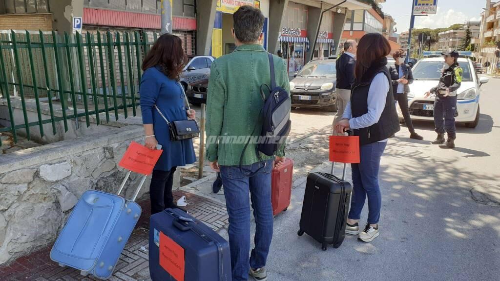 Protesta agenzie di viaggio consiglio regionale Campobasso