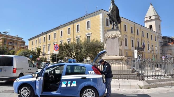 Polizia Campobasso piazza Prefettura