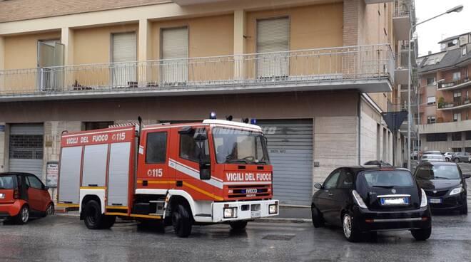 vigili del fuoco maltempo Campobasso