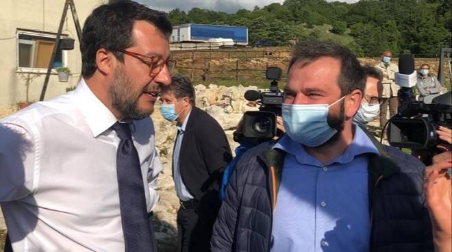 Salvini e Tramontano