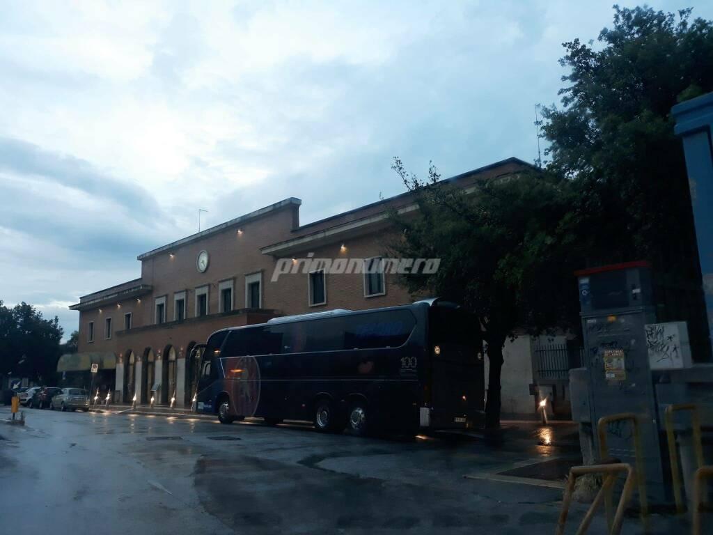 autobus Potenza calcio stazione treni Campobasso