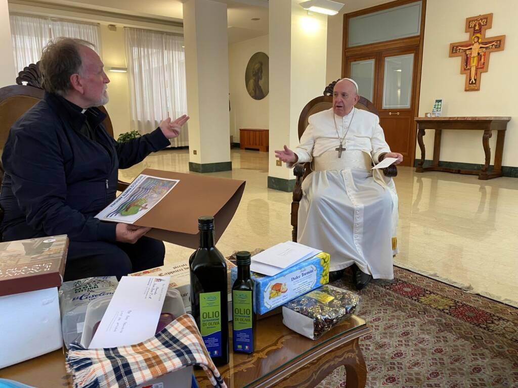 Don Benito con il Papa