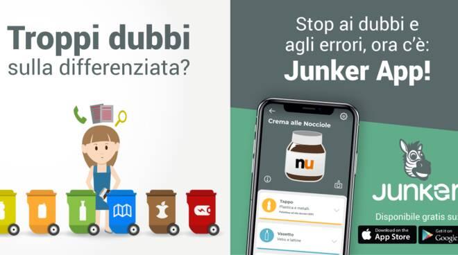 Junker app per rifiuti