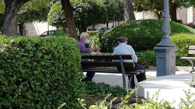 Anziani villa piazza libertà montenero