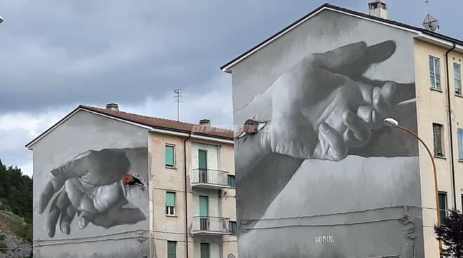 Campobasso murales Fontanavecchia