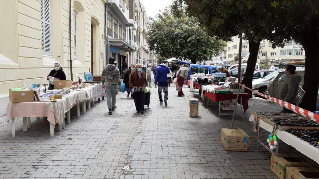 Mercato di Campobasso riapre dopo il covid
