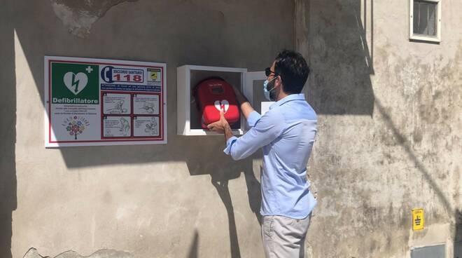 Montenero defibrillatore donato