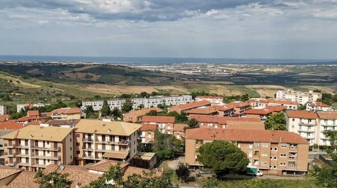 Paesaggio Guglionesi veduta Valle del Biferno