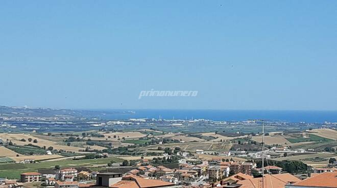 Paesaggio Montenero vasto veduta