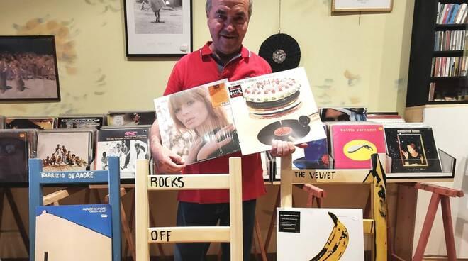 Pasquale Di Lauro dischi negozio
