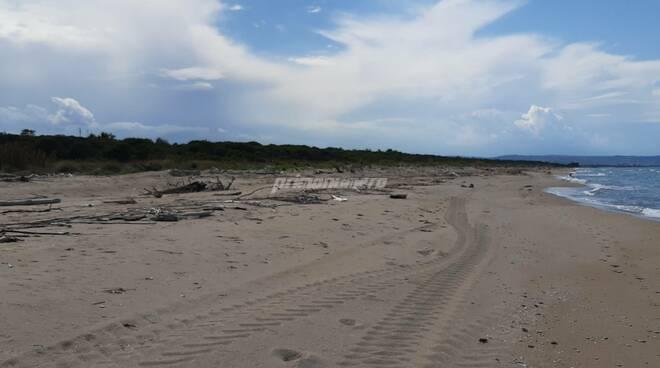 Spiaggia libera Petacciato