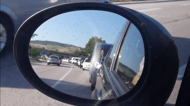 Bifernina traffico