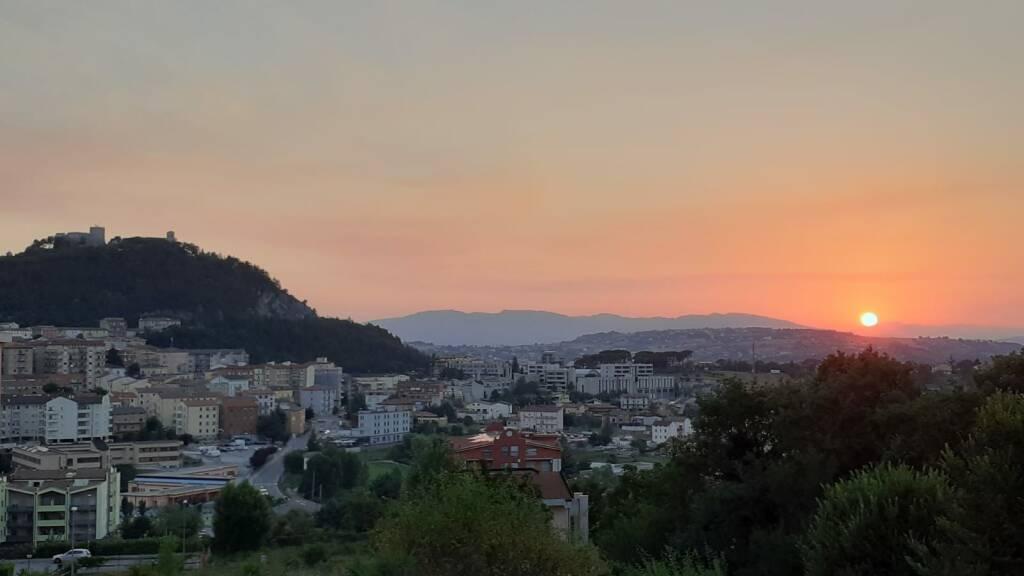 Campobasso tramonto bella
