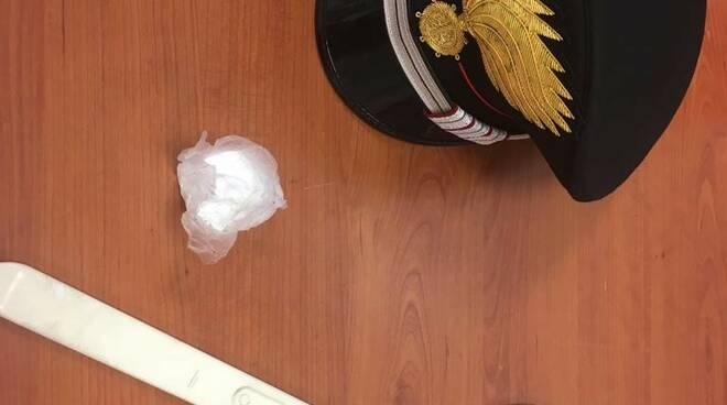cocaina sequestrata trovata nelle mutande