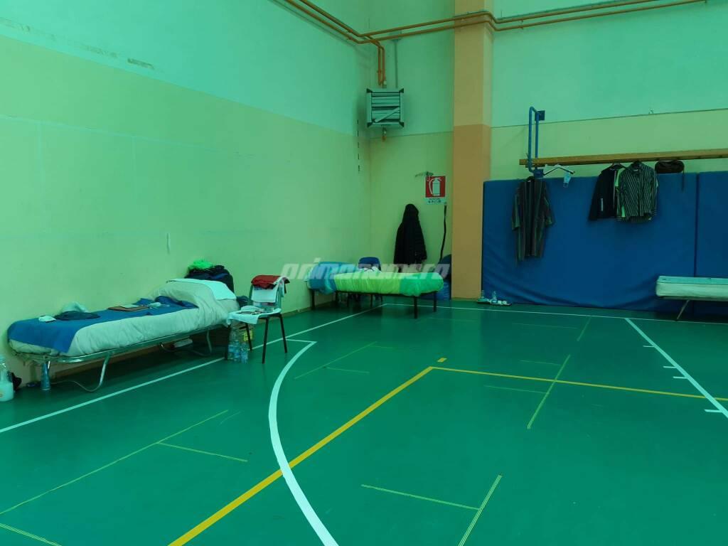 Dormitorio per emergenza Covid a Termoli