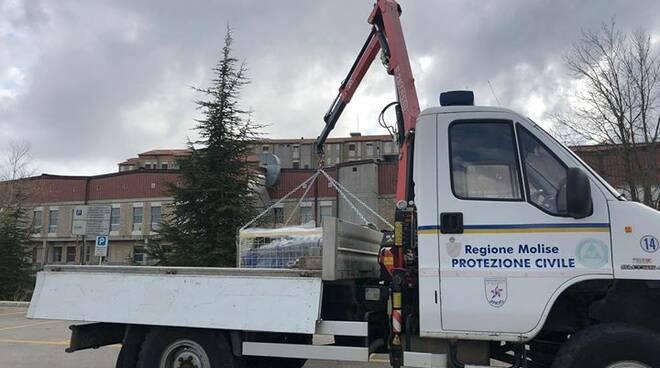 camion protezione civile