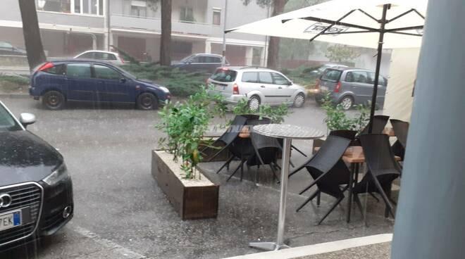 Nubifragio Campobasso 4 luglio