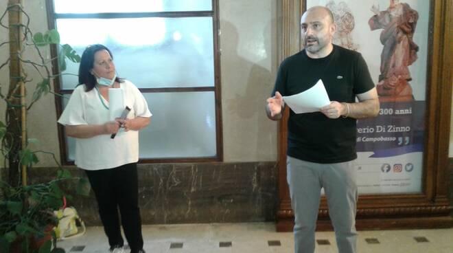 Luca Praitano e Mariangela Polisena