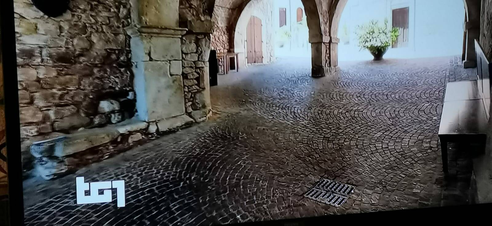 Castel San Vincenzo al Tg1