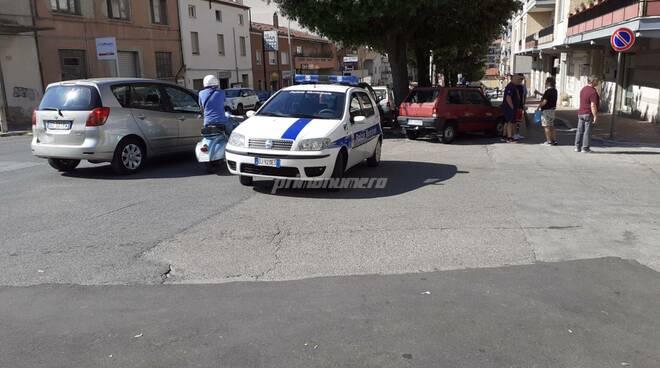Via Ciccaglione Campobasso vigili urbani