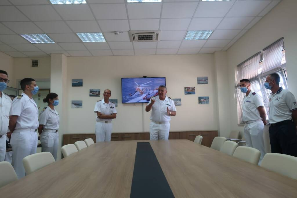 visita capitaneria porto